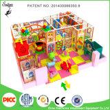 Venta de interior usada de interior del equipo del patio de los niños pequeña