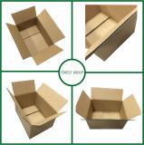 Sin impresión de la insignia llano Diseño Caja de papel corrugado