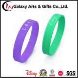 Wristband impresso OEM Eco-Friendly do material do silicone de 100%