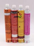 Kosmetik, die leeres zusammenklappbares Haar-Farben-Sahne-Aluminiumgefäß verpackt