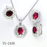 Factory Hotsale Fashion Jewelry Set Silver 925