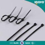 Igoto 4.5*380mm SGS van Ce RoHS UL de Nylon 66 Zelfsluitende Band van de Hoge prestaties Nylon Kabel