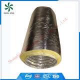 Conducto flexible aislado de la capa doble (aislante de la fibra de vidrio)