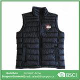 Jaqueta de inverno masculina, colete acolchoado