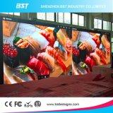 P6 a todo color de pantalla LED de interior Alquiler de Aplicación Etapa