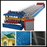 Galvanizado rodillo esmaltado/de Currogated de azotea del azulejo que forma la máquina Jk