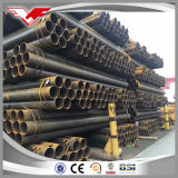 ASTM A53のガス管のための黒い鋼管溶接されたERWの管