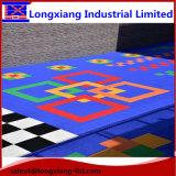 Sonnenblume-Muster-Bodenbelag-Kindergarten-Plastikfußboden-netter Fußboden verschobener blockierensport-Fußboden