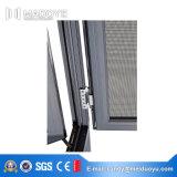 Ventanas de cristal templado de doble acristalamiento Ventana de aluminio para ventanas
