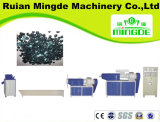 PP/PE Plastik, der Maschinen/Luftkühlung, Granulierer (MDC fap) aufbereiten aufbereitend