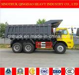 Camion de dumper d'exploitation de la marque 6*4 de Sinotruk HOWO et camion à benne basculante