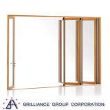 Дверь складчатости Accordian новой конструкции алюминиевая