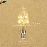 고품질 110V 220V는 백색 E12 1W 초 램프를 데운다