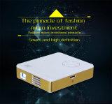 LEIDENE DLP Androïde Projector 4.4 met WiFi/Bluetooth voor de Grootte van de Zak (M9)