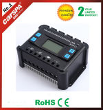 Controlador solar solar 50A da carga do regulador de tensão PWM do painel com LCD