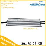 120W 0-10V/Rset/PWM/Clock que escurece o excitador programável do diodo emissor de luz com 7 anos de garantia