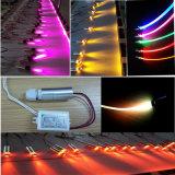 Lampe souterraine imperméable à l'eau de l'éclairage LED 3W DEL pour la fibre optique