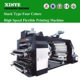 4 Farben-flexible Drucken-Hochgeschwindigkeitsmaschine