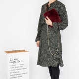 Sacchetto materiale di stile di Crossbody delle donne d'avanguardia del sacchetto di svago di stile delle signore della peluche Chain della borsa