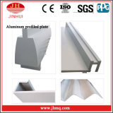 PVDF/Powder enduisant le panneau en aluminium hyperbolique pour le matériau de mur