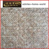 Tela de confeção de malhas de veludo da tela 2016 de matéria têxtil do poliéster (EDM-TC75)
