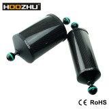 Поддержка плавая рукоятки волокна углерода Hoozhu S22 алюминиевая для видеоего камеры подныривания &Diving