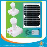avec la lampe solaire à télécommande et de téléphone mobile du chargeur 3W