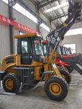 Qingzhou Eougem caricatore della rotella da 1.6 tonnellate con il pneumatico agricolo