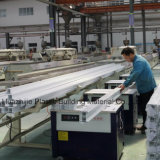 Modèle matériel des Caraïbes de grils de guichet de PVC de châssis de fenêtre du choc UPVC d'ouragan d'endroit