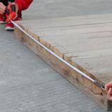 Лента 50m Fible ручных резцов Newbakers длинняя измеряя (5012)