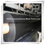 Rolo Geomembrane do preto do HDPE