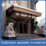 Het nieuwe Scherm Van uitstekende kwaliteit Van het Achtergrond metaal van de Stijl Decoratieve van de Muur