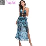 Form-Sleeveless Vertuschung-Sommer-Strand-Kleid Ty1023 der Frauen