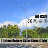 Approved фабрика ISO9001 солнечных уличных светов (ND-R37B)