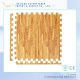 防水木製の穀物のエヴァの床のマット、赤ん坊の這うマット