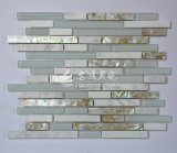 Frischwassershell-Mosaik-Kristallglas-Mosaik-Fliese