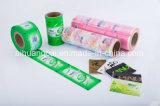 Film plastique de empaquetage de publicité de roulis de sac de conditionnement des aliments