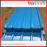Hoja de acero prepintada del material para techos del color