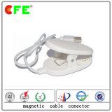 Connecteur 4pin magnétique blanc avec le câble usb pour la grille de garantie