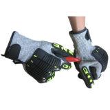 고 영향도 손목 부착을%s 가진 방어적인 TPR 일 장갑을 반대로 자르십시오