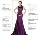 Kundenspezifisches Dame-/Frauen-Form-formales bördelndes Abend-Brautjunfer-Kleid-Hochzeits-Kleid