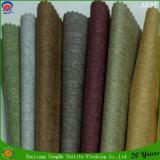 Tissu de rideau en arrêt total de franc d'enduit de polyester tissé par textile à la maison pour l'usage d'hôtel