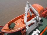 7.5m Marine-FRP öffnen Rettungsboot für Verkauf