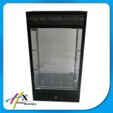 Soem-Entwurfs-Einzelverkaufs-Uhr-Bildschirmanzeige-hölzerner acrylsauerausstellungsstand