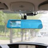 Câmara de vídeo cheia do traço do gravador de vídeo do espelho de Rearview do carro DVR de HD auto