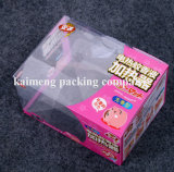 주문을 받아서 만들어진 포장 공간 플라스틱 PVC 보석함 Foldable 디자인 (보석함)
