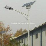 уличный свет светильника 5m-6m 20W СИД солнечный