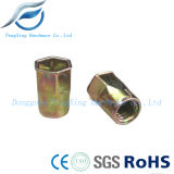 Flat Round Head Hex Socket Rivet Nuts