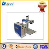 Máquina de marcação a laser de fibra de venda quente China Mopa Placa de marcador 20W, estojo, embalagem, artesanato