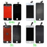 Affissione a cristalli liquidi originale del telefono mobile dello schermo di tocco dell'OEM per il iPhone 4S